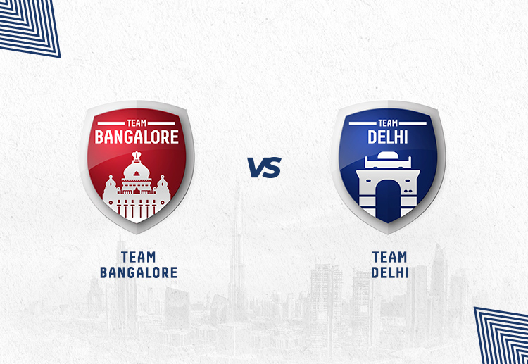 RCB vs DC has been won by Bangalore more often.