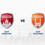 RCB vs SRH has been won by both teams equally.