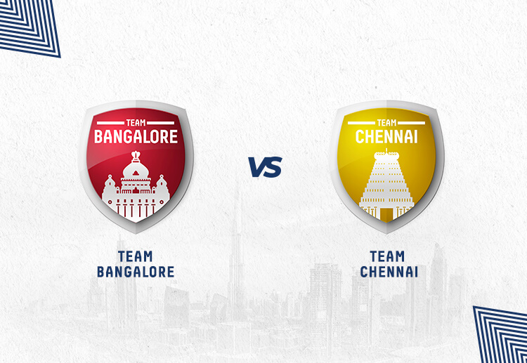 RCB vs CSK has been won by Chennai more often