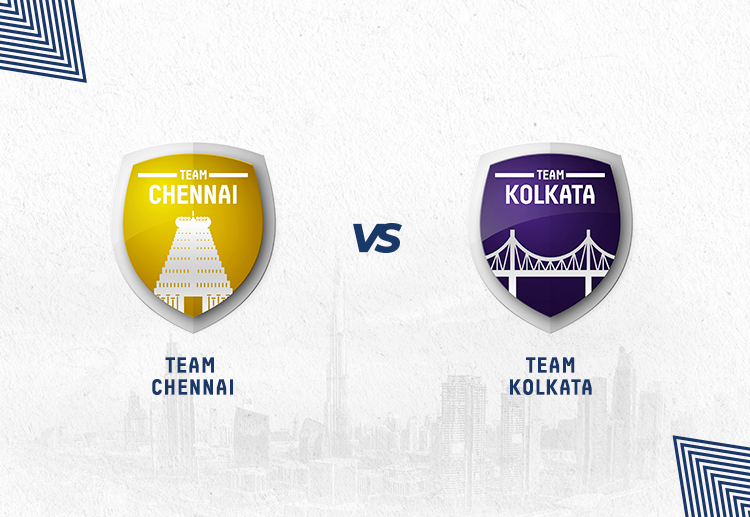CSK vs KKR fixtures have been won by Chennai more often.