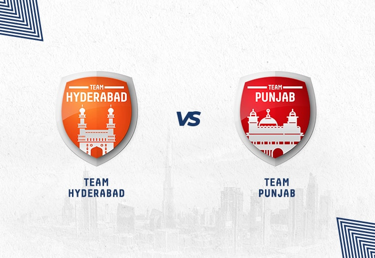 SRH vs KXIP has been won by Hyderabad more often.