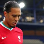 Virgil Van Dijk was injured during Liverpool's clash with Everton in the Premier League.