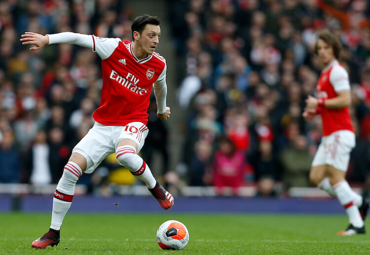 Mesut Ozil hasn't been included in Arsenal's Premier League and Europa League squads