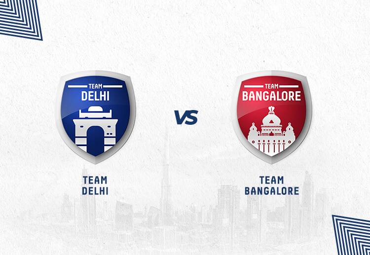 DC vs RCB will assure one team a place in the playoffs