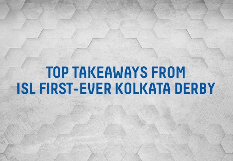 The SC East Bengal vs ATK Mohun Bagan match on November 27, 2020, was ISL 2020-21's first-ever Kolkata derby