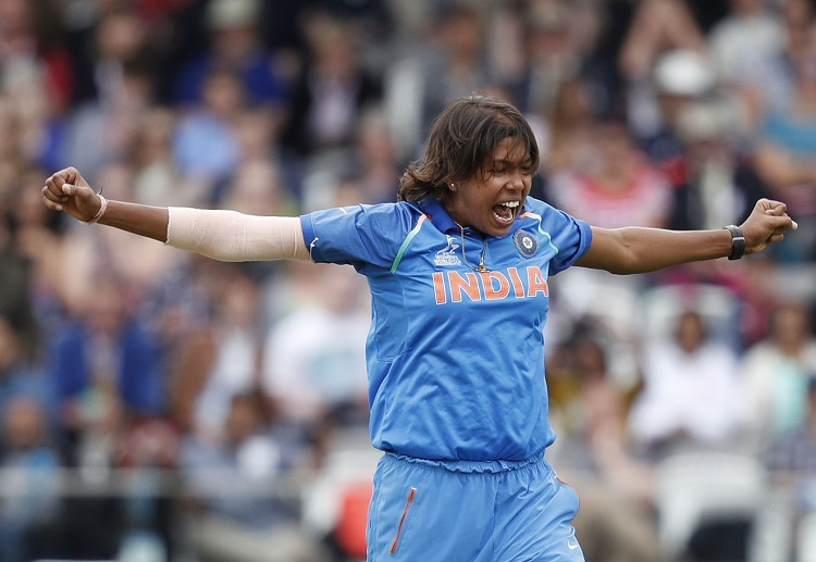 Jhulan Goswami's best bowling figures came in the Trailblazers vs Velocity match