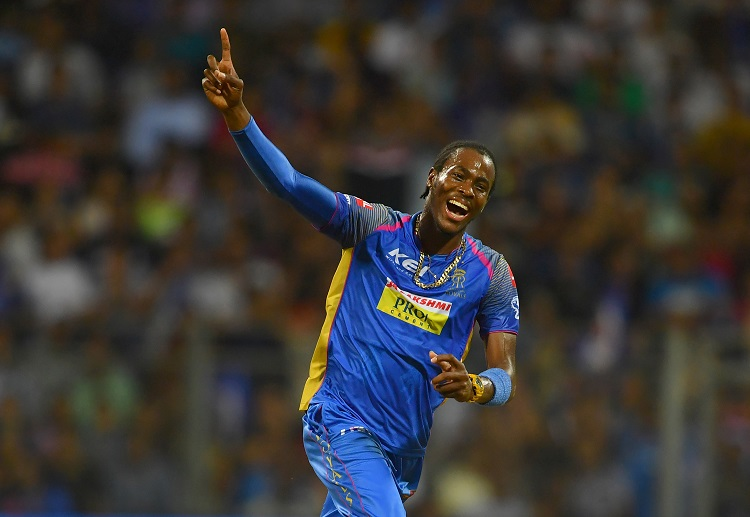 Jofra Archer bagged the MVP award in the Indian T20 League 2020.