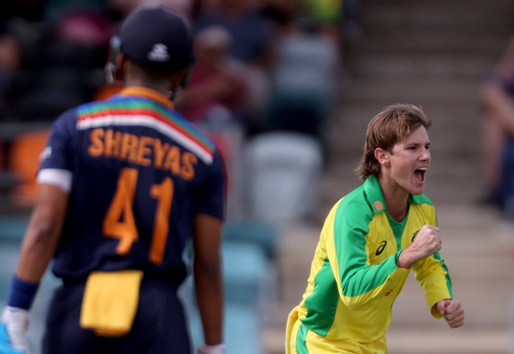 Adam Zampa helped his team win the ODI series 2-1.