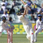The first AUS vs IND Test was won by Australia by 8 wickets