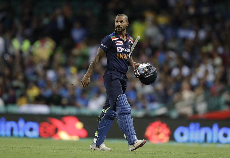 Shikhar Dhawan wouldn't be overly happy with the way the series panned out for him.