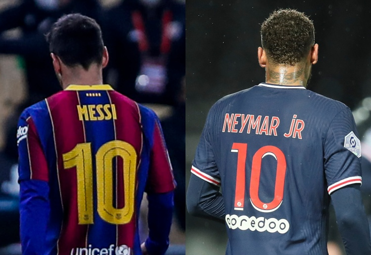Messi's Barca and Neymar's Paris will face-off in an exciting encounter in the UEFA Champions League Round of 16.