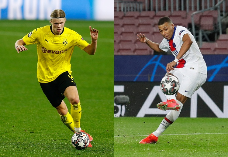 Erling Haaland and Kylian Mbappe are considered the next big thing in world football.