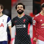 Mohammed Salah, Bruno Fernandes and Harry Kane are the top contenders for the Golden Boot this season.