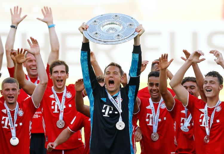 Bayern Munich are the reigning Bundesliga champions