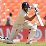 Joe Root scored 218 in the first test against India