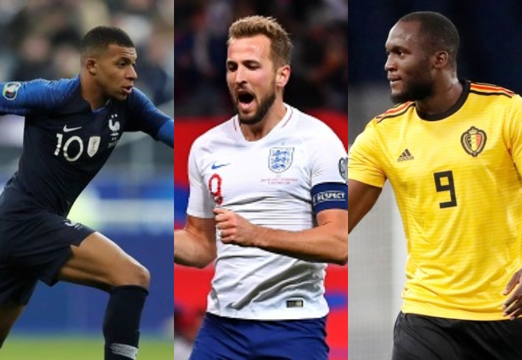Harry Kane, Kylian Mbappe and Romelu Lukaku are in phenomenal form and will be leading their teams' hopes in Euro 2020.