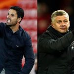Manchester United will face Granada and Arsenal take on Slavia Prague in the quarter-finals of the Europa League.