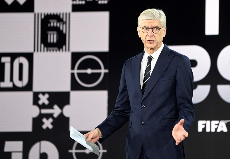 Arsene Wenger has proposed a law change in the offside law.