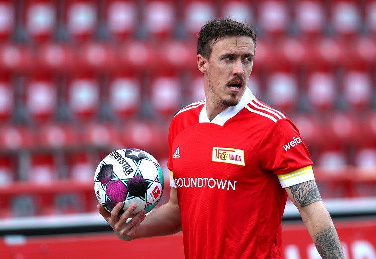 Union Berlin's Max Kruse is keen on ending his side Bundesliga match with a strong finish