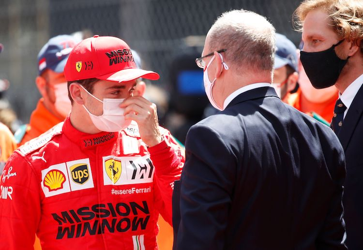 Ferrari's Charles Leclerc is disappointed after missing out on the 2021 Monaco Grand Prix due to gearbox damage