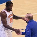 Julius Randle gears up ahead of Knicks' first NBA playoff game in eight years
