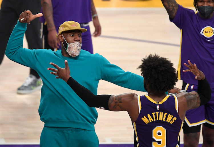 LeBron James hopes to lead Los Angeles Lakers to victory when he play against the Rockets in upcoming NBA match