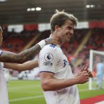Patrick Bamford has scored a goal to give Leeds United a boost during Premier League clash against Southampton