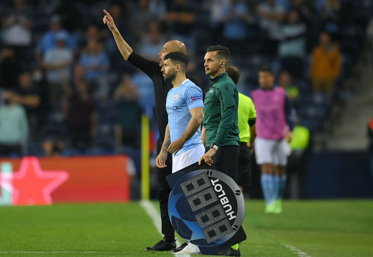Sergio Aguero failed to help Manchester City secure the Champions League title
