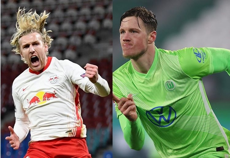 Bundesliga top four RB Leipzig and VfL Wolfsburg are vying to seal their claims to Champions and Europa League qualifications
