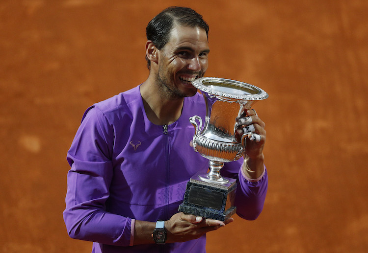 Rafael Nadal has once again dominated on clay to beat Novak Djokovic and seal his 10th Italian Open title