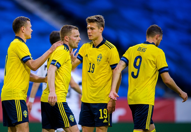 International Friendly: Robin Quaison gave Sweden the lead in the 23rd minute