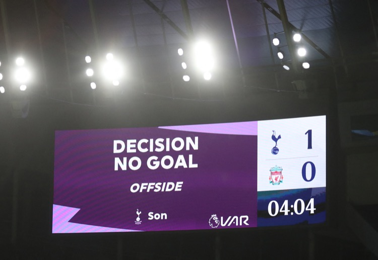 VAR is in constant touch with the on-field referee.