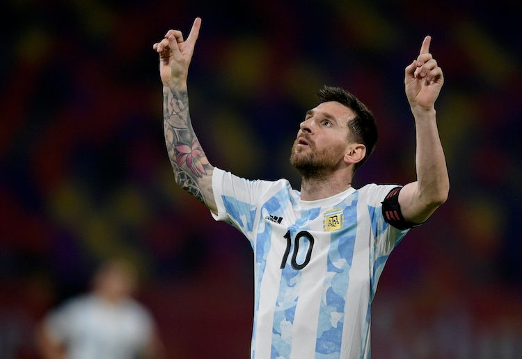 Leo Messi hopes to continue Argentina's World Cup 2022 qualifiers dominance when they face Colombia next