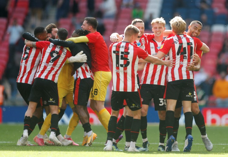 Brentford are one of the promoted teams who would compete in the 2021-22 Premier League season.