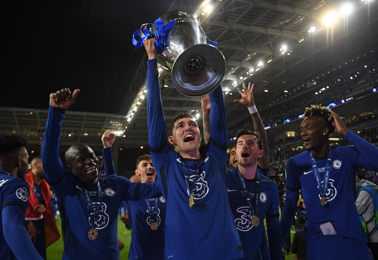 The UCL 2020-21 final was the third all-English Champions League final.