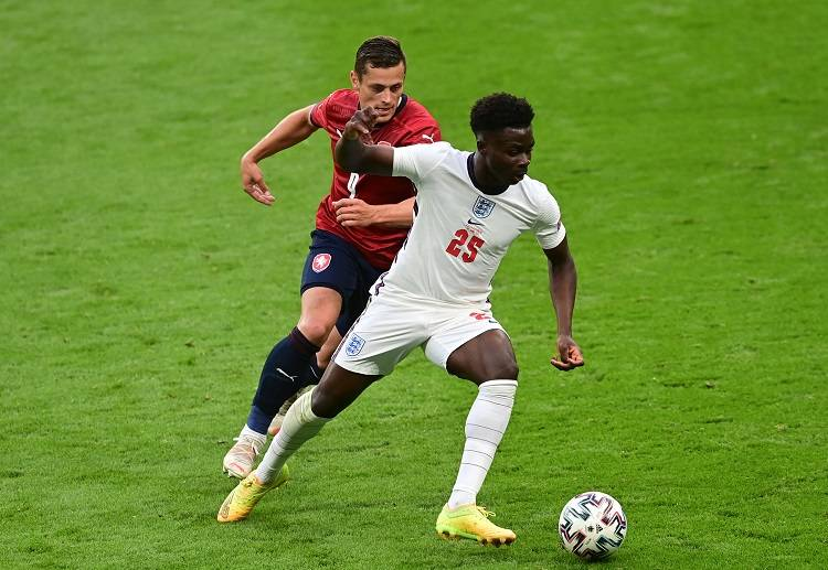 Bukayo Saka won the Man of the Match Award in England's previous match against the Czech Republic.