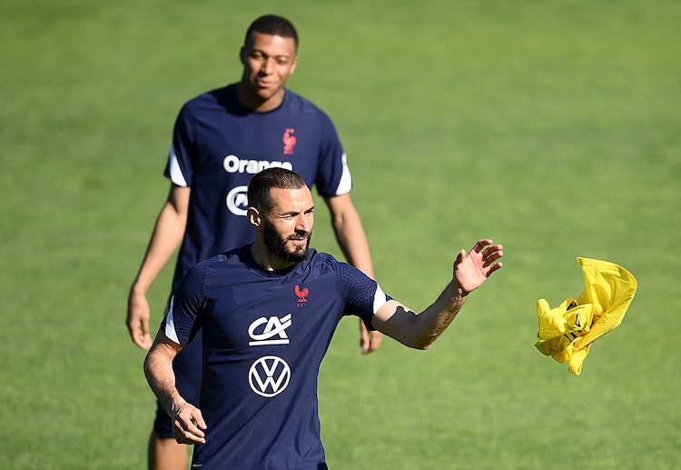 France fans are looking forward to see Karim Benzema and Kylian Mbappe in action during International Friendly match against Wales