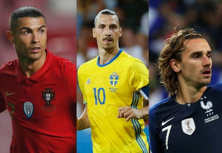 Cristiano Ronaldo and Antoine Griezmann will be looking to add to their tally of goals in the upcoming Euros.