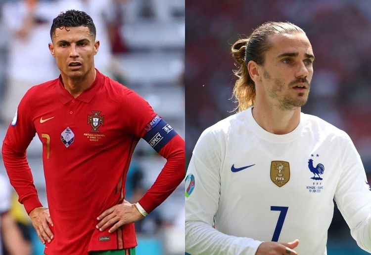 Cristiano Ronaldo and Antoine Griezmann will look to score on Wednesday in a crucial fixture for their teams.
