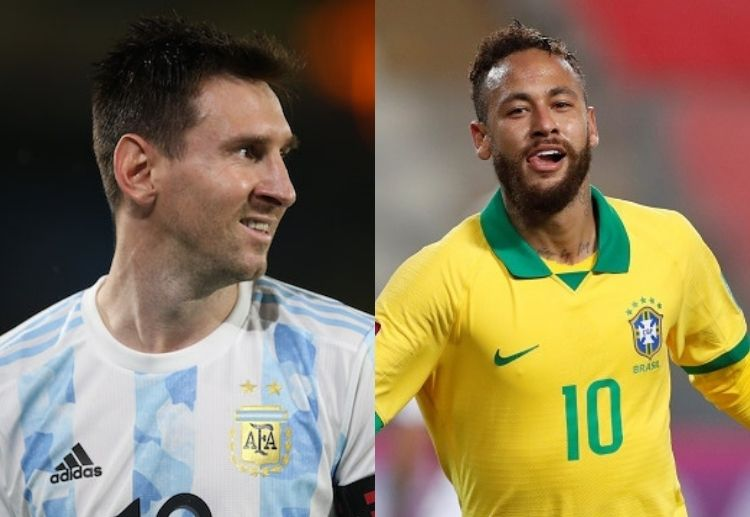 Argentina and Brazil are the favourites to win Copa America 2021