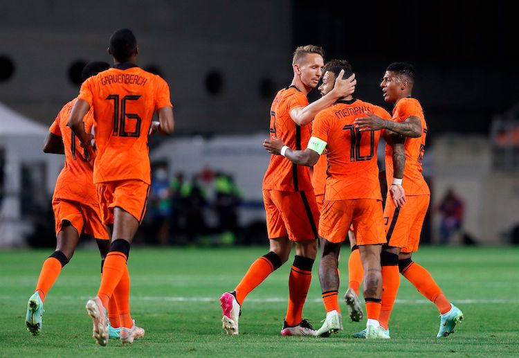 Memphis Depay helped the Netherlands hold Scotland to a 2-2 draw