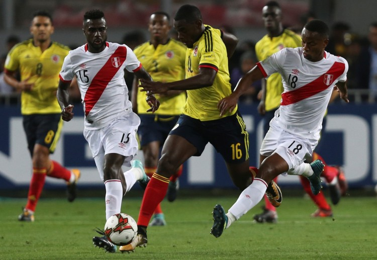 Colombia are eyeing for a win to improve their standings in the World Cup Qualifiers