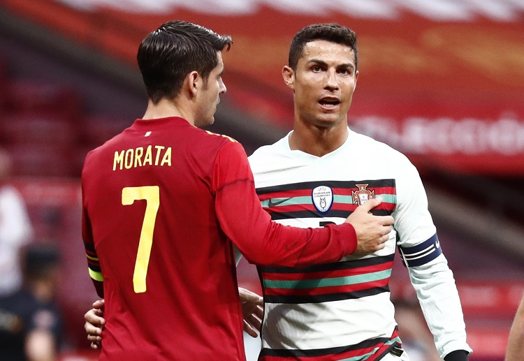 Spain could not break the deadlock in a International Friendly game with Portugal