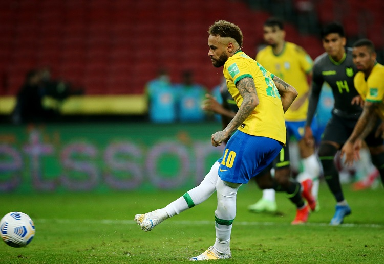 Neymar's second goal helped Brazil to win their World Cup 2022 qualifying against Ecuador