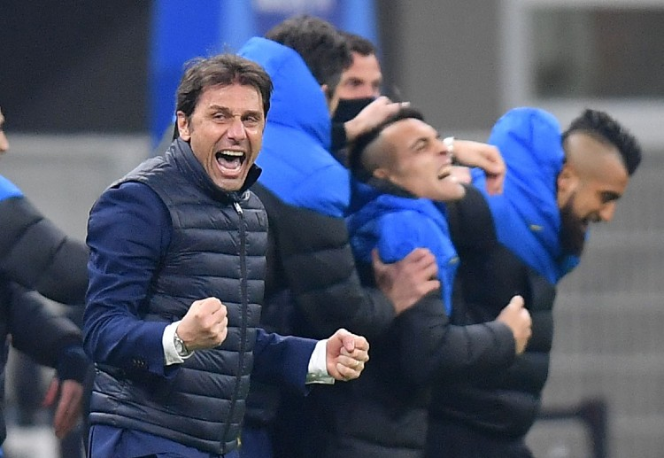 Antonio Conte led Inter Milan to their first Serie A title since 2009-10