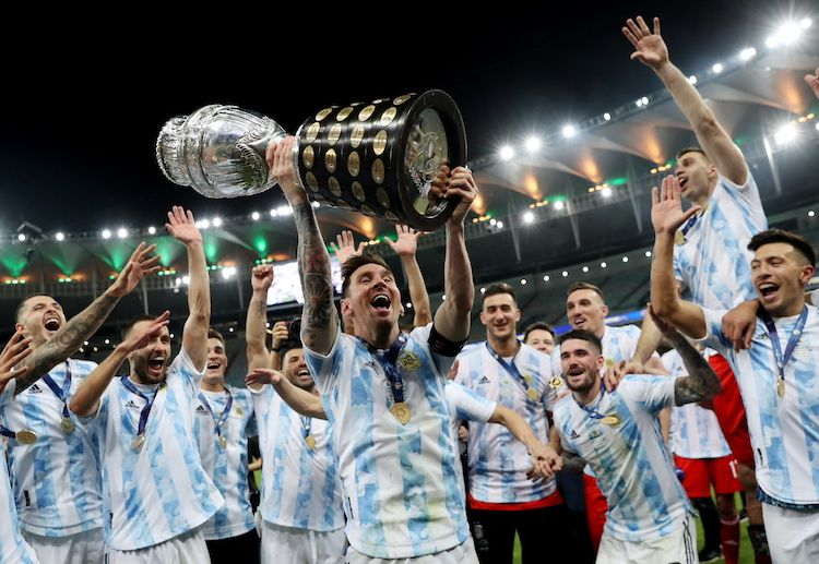 Lionel Messi finally broke his international trophy drought by leading Argentina to the Copa America title