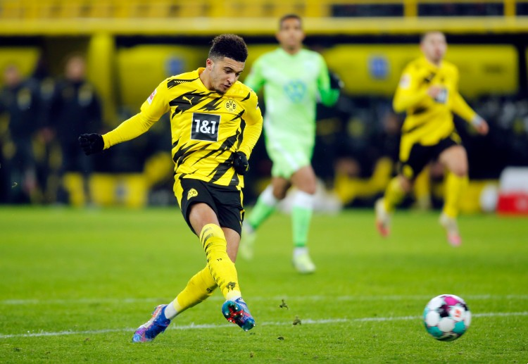 Jadon Sancho started his career with Manchester City's academy.