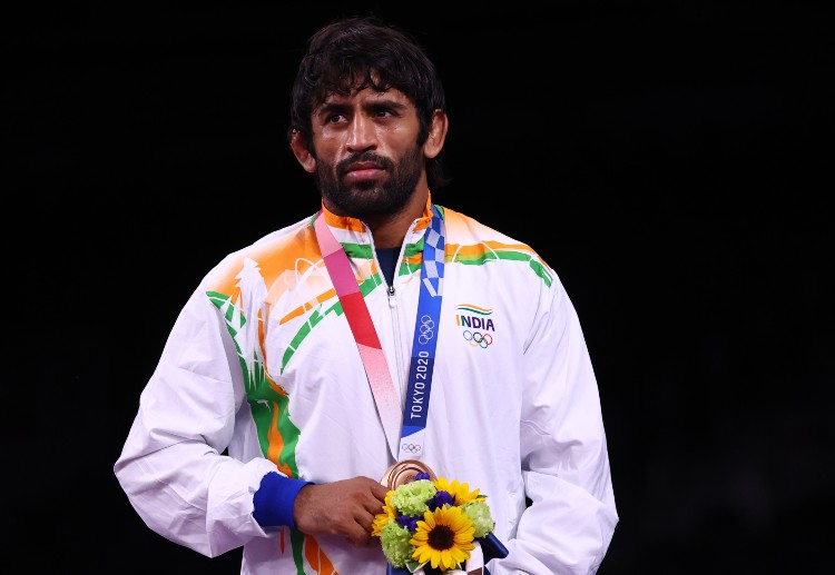 Olympics 2020 was Bajrang Punia's maiden campaign.