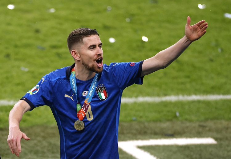 All eyes will be on Jorginho who is expected to pull strings in the midfield for Italy