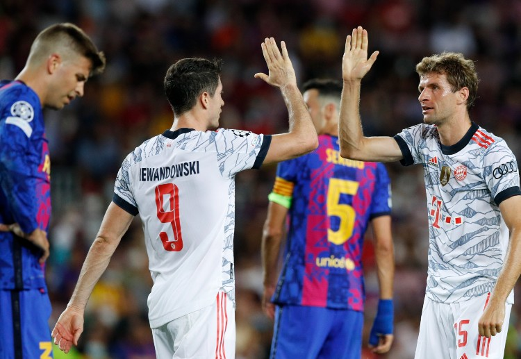 Lewandowski stunned the Camp Nou crowd with two goals in the first match
